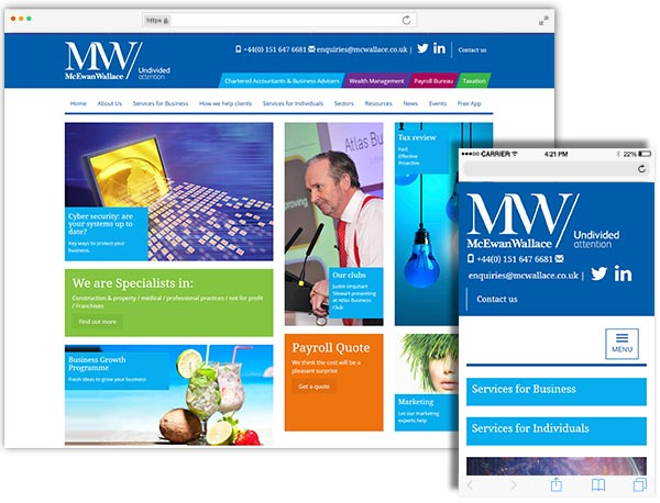 McEwan Wallace website example